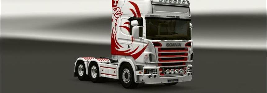 Scania Griffin skin - 50keda R2008