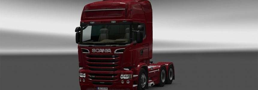 Scania R Streamline modifications Addons v1