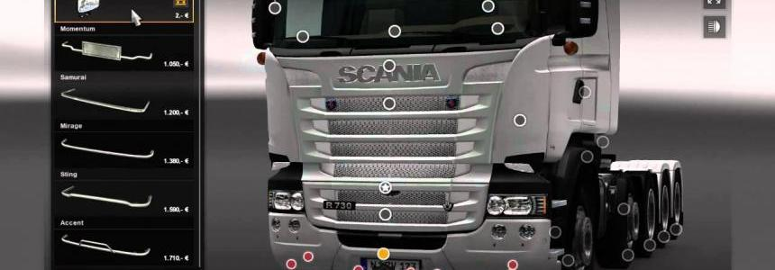 Scania R & Streamline Modifications V1.1