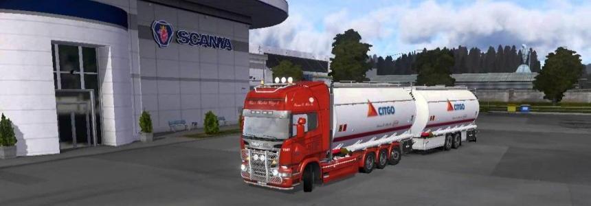 Scania Streamline Citgo tandem