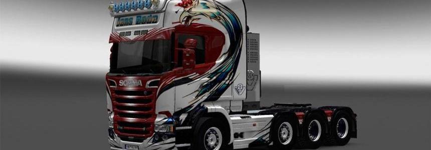 Scania Streamline Jens Bode skin