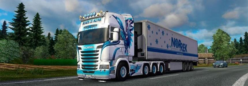 Scania Streamline W.B Eagle skin