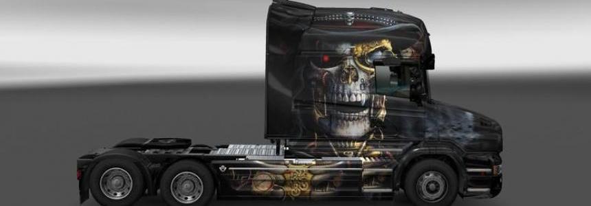 Scania T Punk Skull v1.0