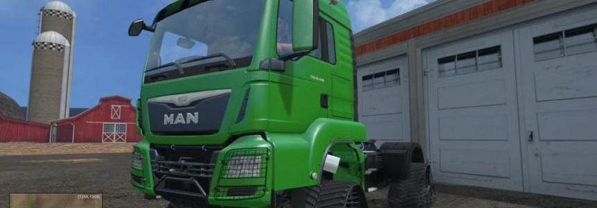 Semi Track MAN Truck v1.0