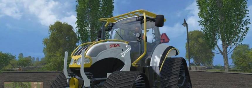 Steyr Multi Track Tractor v1.0