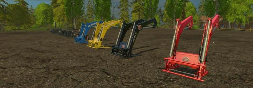 Stoll Full Front Loader Pack with Dyeable loaders v1.3 Final