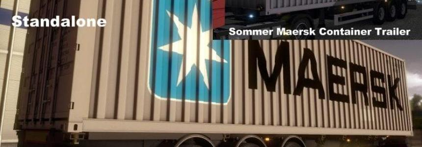 Summer Chassi with Maersk Container v1.0
