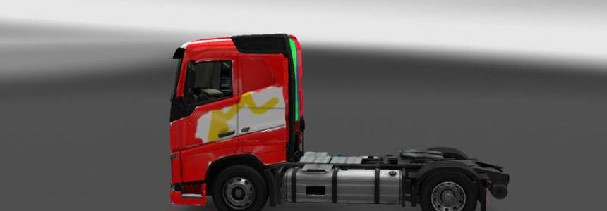 The Colorful 2012 Volvo Truck v1.16.x