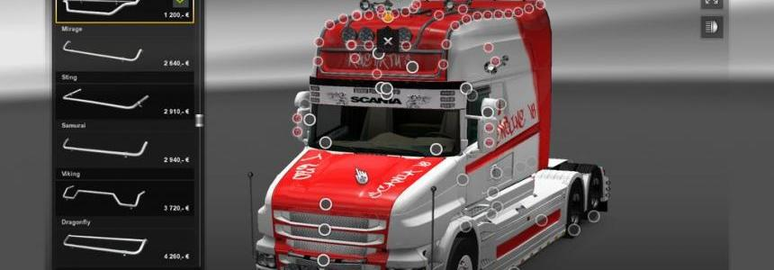 Tuning Mega Store for Scania R Streamline RJL v1.5