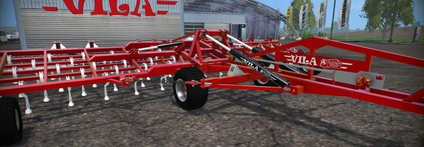 Vila Vibro-Cultivator Dragged 10M 1.0 Clean