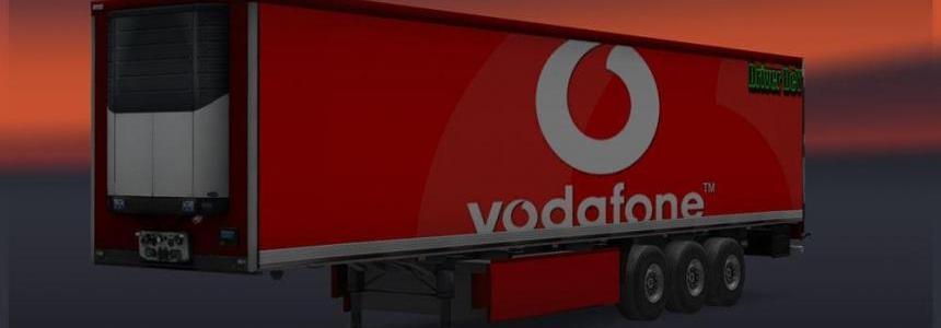 Vodafone Trailer Skin