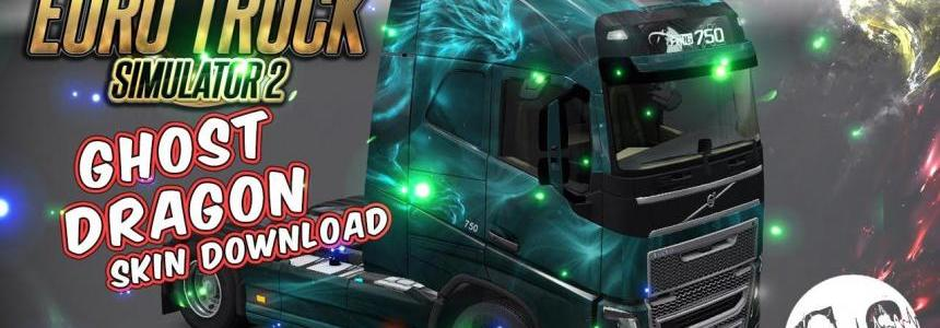 Volvo FH 2012 Ghost Dragon Skin