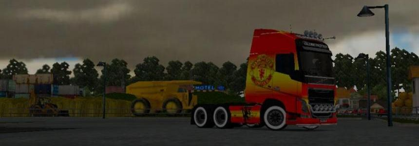 Volvo FH 2012 Manchester United Champions Skin
