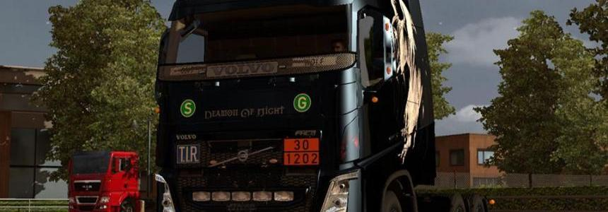 Volvo FH 2012 ohaha Deamon of Night Skin