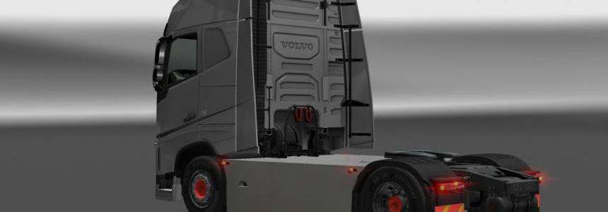 Volvo FH 2012 Sideskirts Version Final