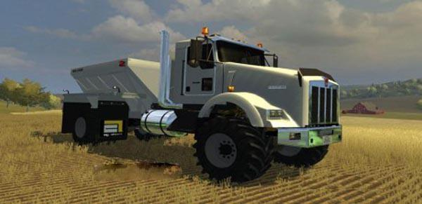 Mack Truck Fertilizer : Kenworth fertilizer spreader truck v modhub