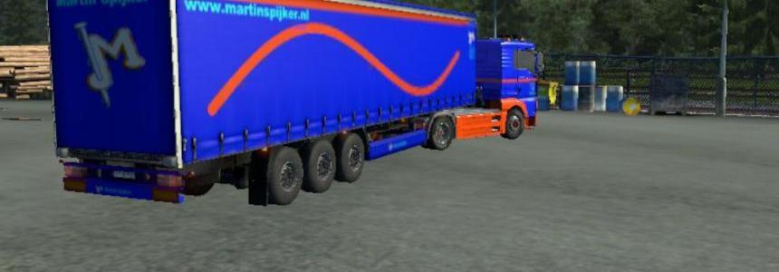 Martin Spijker truck+trailer v1
