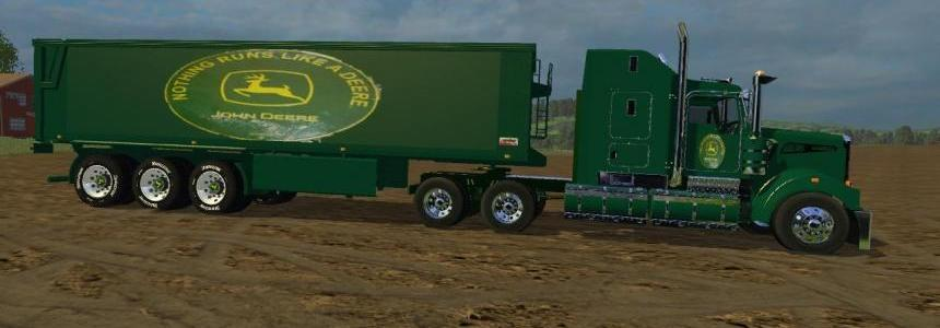 Kenworth John Deer & Trailor v1.0