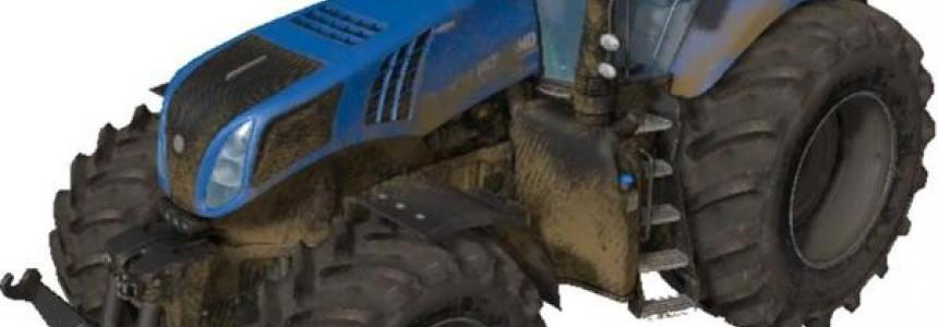 New holland t8.320 v2.3