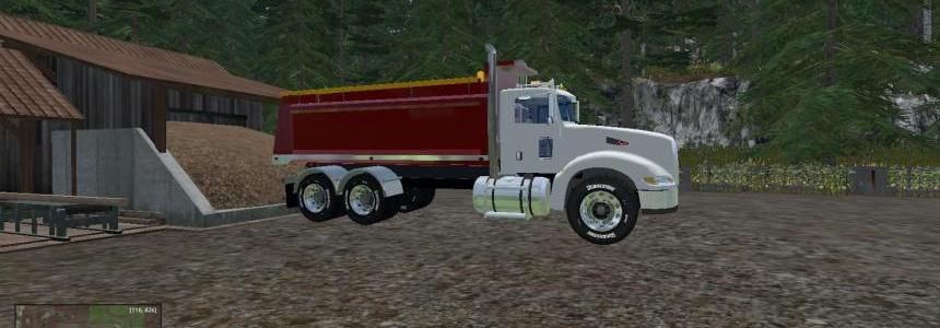 Peterbilt 384 Dump Bed  V1 Revision 1