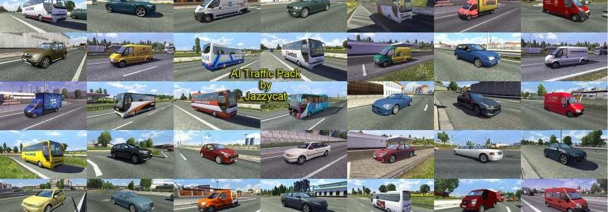 AI Traffic Pack by Jazzycat  v2.4
