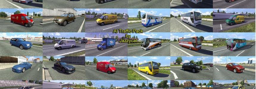 AI Traffic Pack by Jazzycat  v2.5