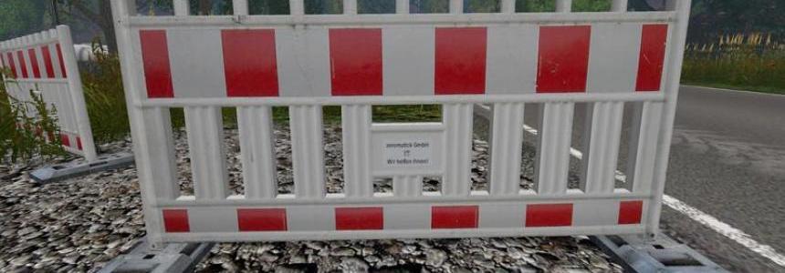 Barrier hoarding v1.1a