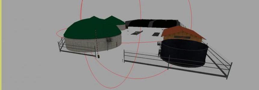 Biogas plant v1.1