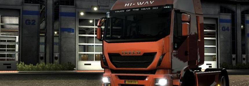 Black Headlights for Iveco Hi-way