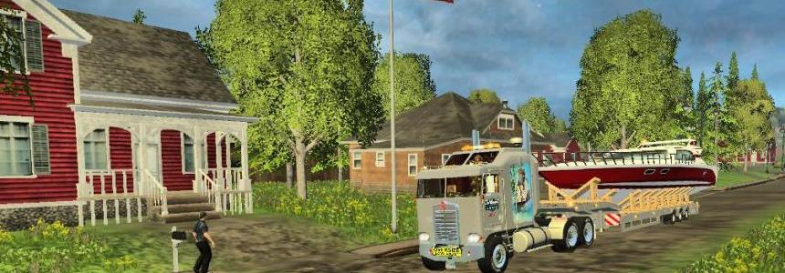 BOX MOVING TRAILER AND TRUCK v1.1
