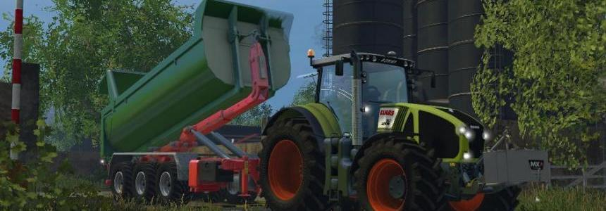 Claas Axion 950 Full Washable v4.0