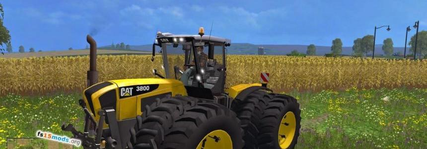Claas Xerion 3800 CAT SKIN v1.0