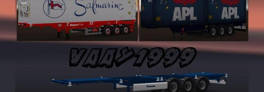 Container Trailers Pack