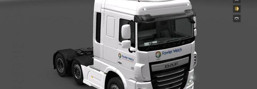 DAF XF Euro 6 Fowler Welch Skin