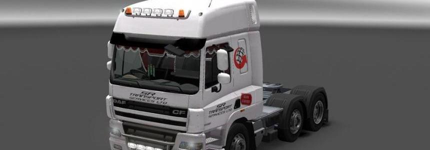 DAF XF SR Transport Skin