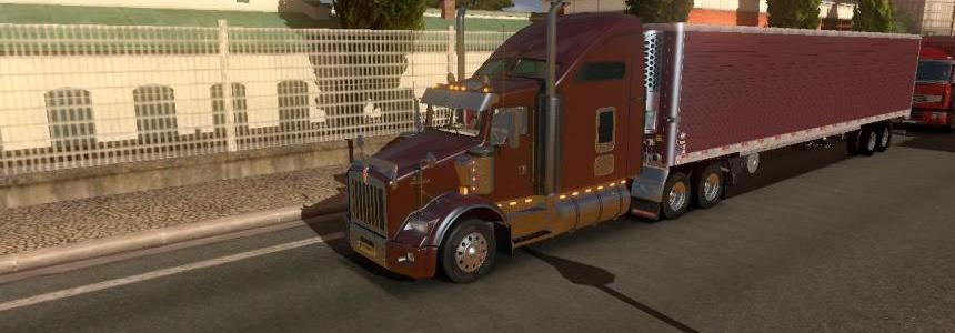 DC-Black Cherry American Trailer Skin v1