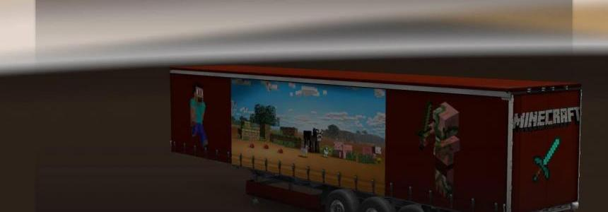 DC-Minecraft Steve Trailer Skin v1
