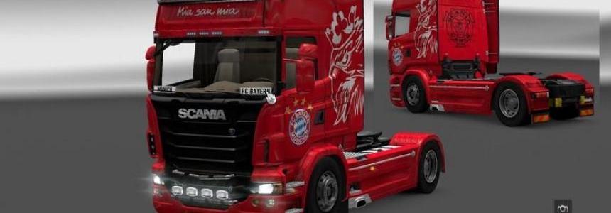 FC Bayern Munich Scania Vabis v1.16