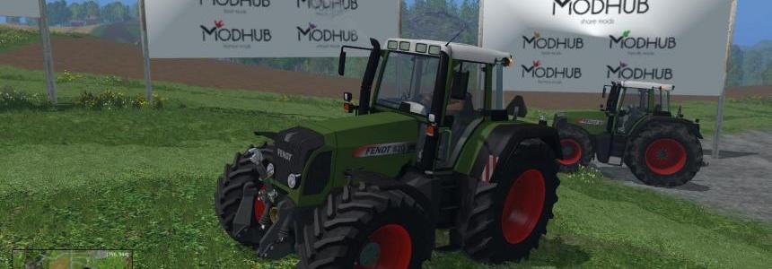 Fendt 818-820 Vario TMS Tractors Pack