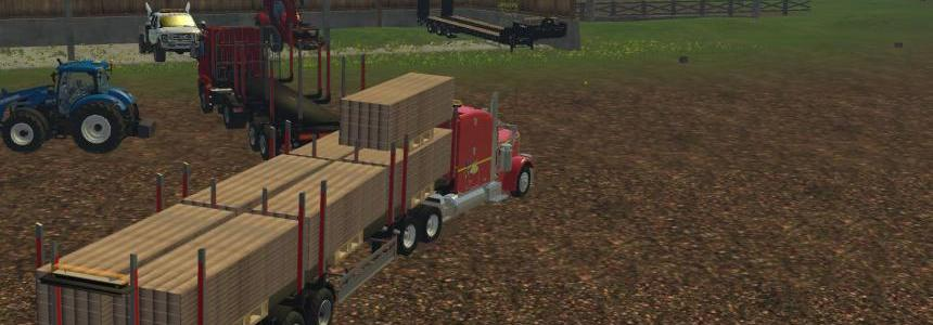 Fliegl Lumber Trailer Pack v1.1