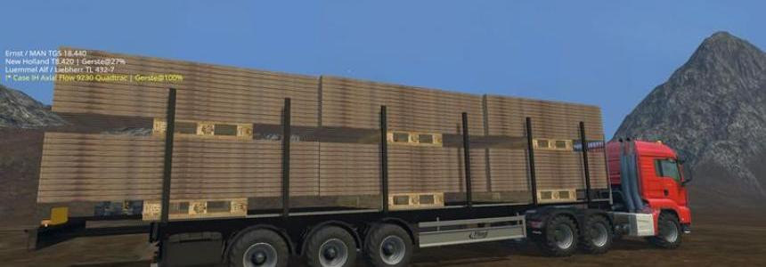 Fliegl multi purpose semi trailers v1.0