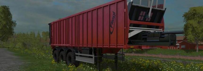 Fliegl tridem trailer v0.9