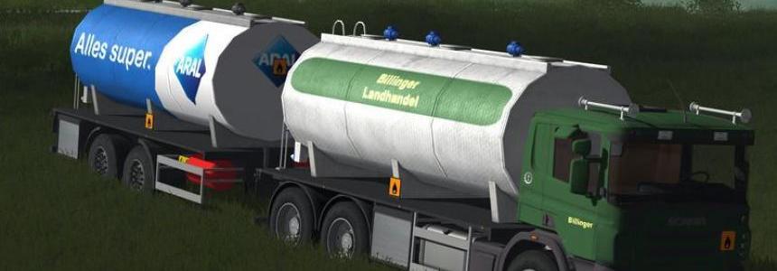 Fuel tank truck H97 Aral v2.0 final