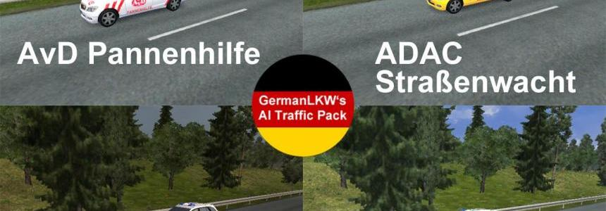 GermanLKW's German Traffic-Pack V1