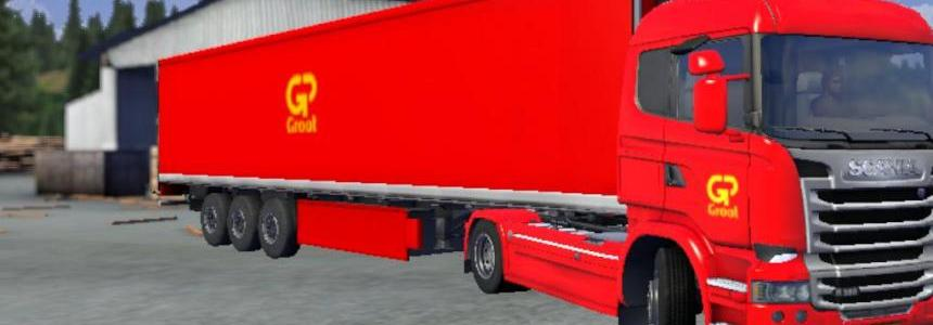 Gpgroot truck + trailer scania streamline! v1