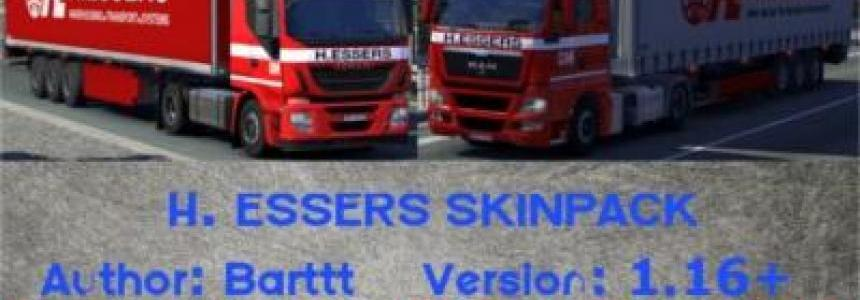 H. ESSERS skinpack by Barttt 1.16+