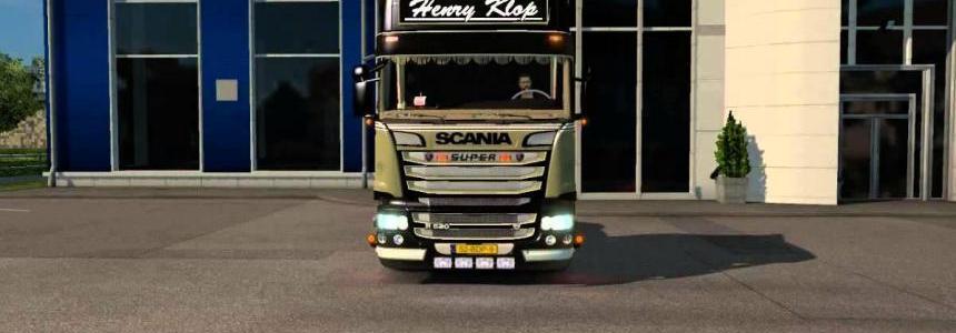 Henry Klop SCANIA R520 Beauty Class