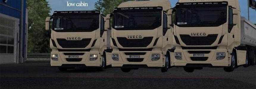 Iveco real cabins alfa version
