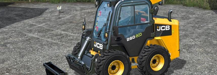 JCB skid steer adapter