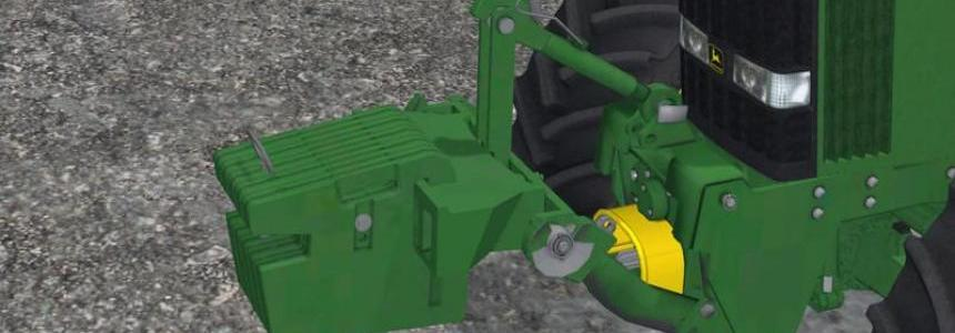 John Deere weights Pack v1.0